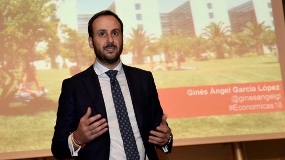 Ginés García López, presidente de AJE Murcia (Fuente: UMU)