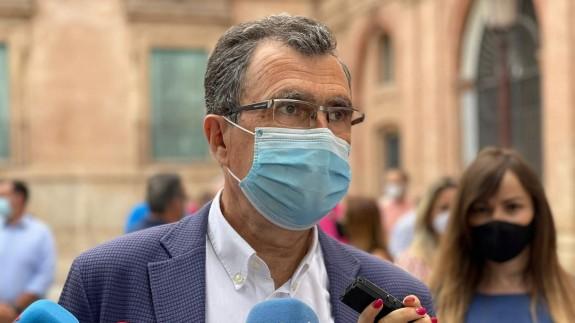 Ballesta decidirá tras el verano si opta a la alcaldía de Murcia en 2023 en función del apoyo del PP