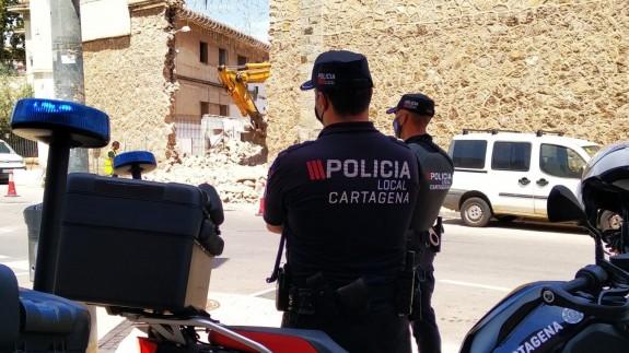 El ayuntamiento de Cartagena incurriría en un delito si impide la demolición parcial de la prisión de San Antón