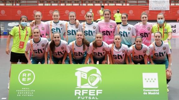 Formación del STV Roldán en el playoff de la pasada temporada. Foto: RFEF