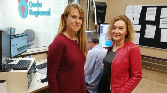 Lucía Hernández y Carmen Tárraga