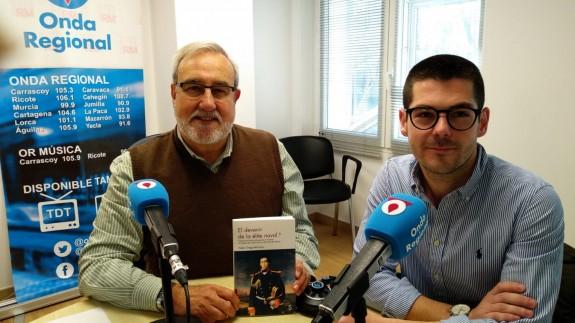 José Luis García Velo y el historiador Pablo Ortega de Cerro