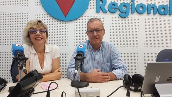 Isabel Aráez y Antonio Cervantes, del CEA García Alix