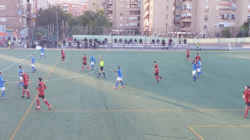 El Muleño vence 0-2 al Ciudad de Murcia