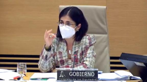 Carolina Darias. Foto: Ministerio de Sanidad