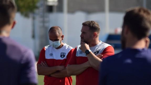 Javi Motos, entrenador del Mar Menor
