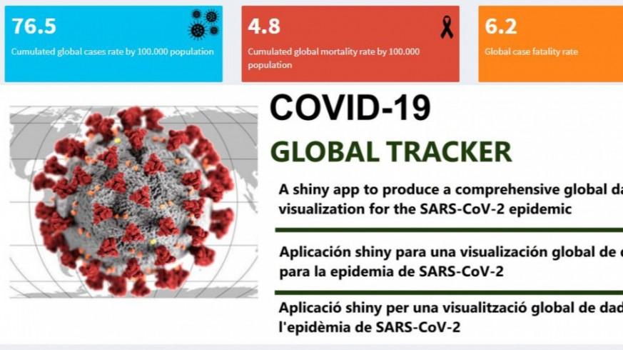 El CSIC lanza un app para comparar la evolución de la pandemia en todo el mundo