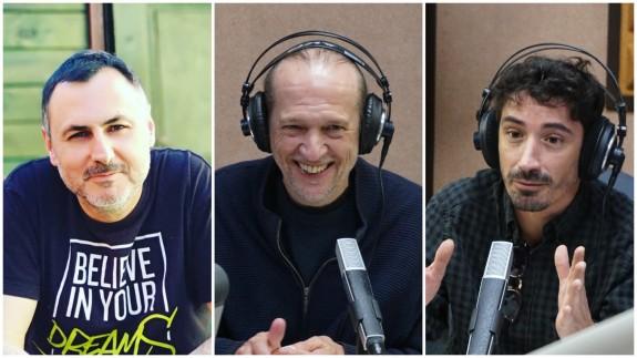 Juan Antonio Sánchez JASS, Román García y Fran Ropero