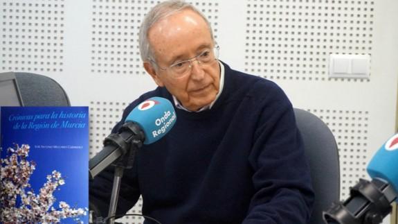MURyCÍA. Nuevo libro de José Antonio Melgares, cronista de la Región
