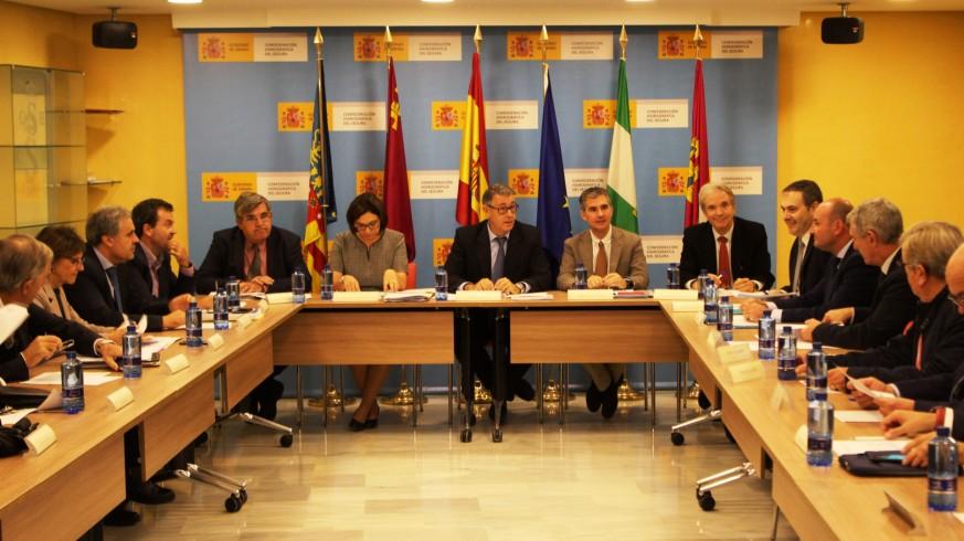 Reunión de la última Junta de Gobierno de la CHS