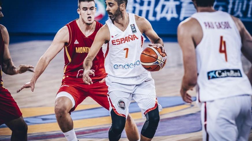 Navarro en el República Checa- España (foto: @baloncestofeb)