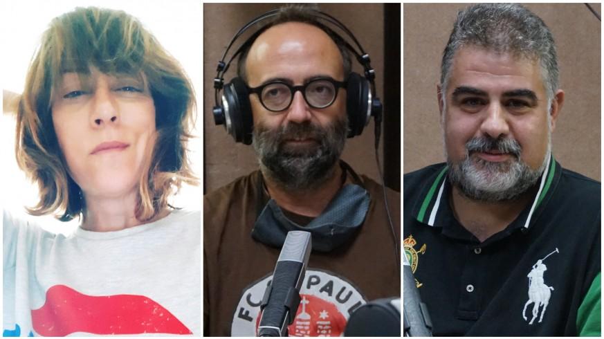 Vega Cerezo, José Daniel Espejo y Laureano Buendía