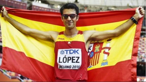 Miguel Ángel López, cuando ganó el Mundial en 2015
