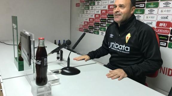"""José María Salmerón: """" El Real Murcia es el mejor equipo, para mí"""""""