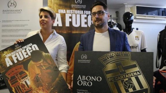 El Cartagena congeló los precios y lanzó su carnet oro. Foto: FC Cartagena