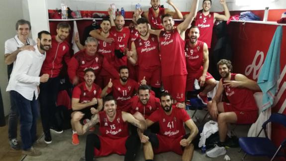 El Real Murcia basket gana en casa 64-58 ante Navarra