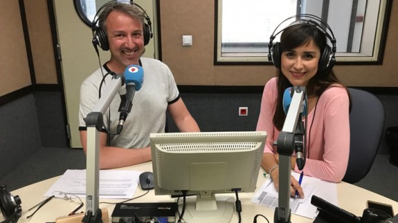 Paulino Ros y Raquel Aullón (foto: ORM)