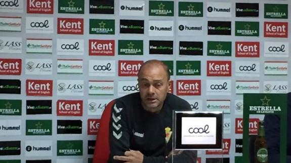 Vicente Mir en rueda de prensa