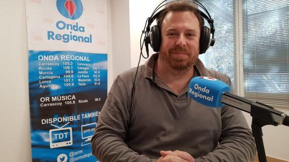 Antonio Rentero en una imagen de archivo de Onda Regional