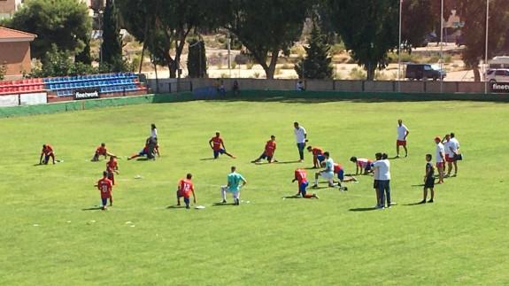 Reparto de puntos entre Mazarrón y El Palmar (1-1)