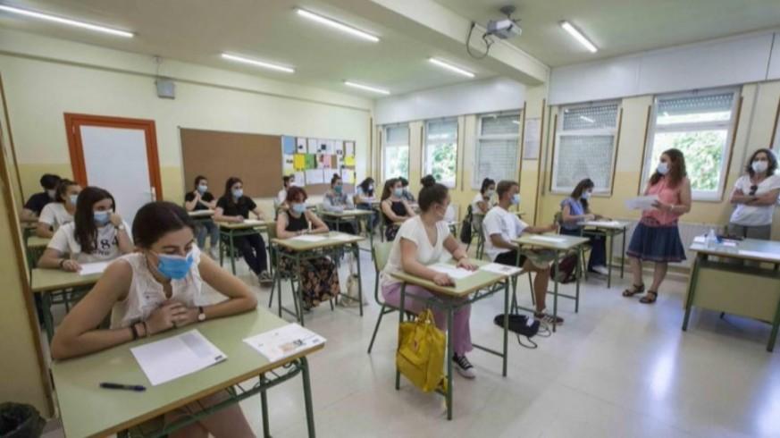 Aula en un colegio. FOTO: EUROPA PRESS