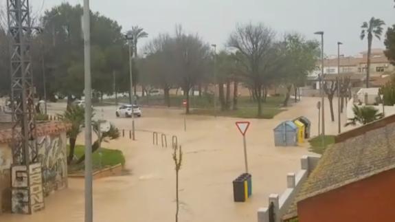 Los Alcázares vuelve a inundarse tras las últimas lluvias