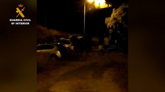 Operación de la Guardia Civil en Fortuna contra las fiestas ilegales