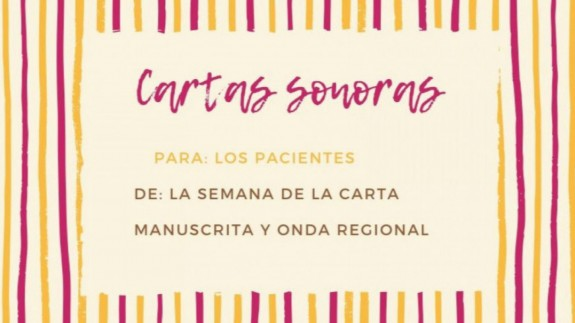MURyCÍA. Cartas para hacer compañía a los pacientes #7