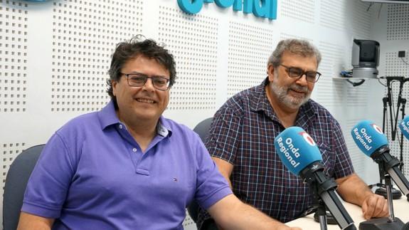 Joaquín Jiménez González y José Ramón Salcedo