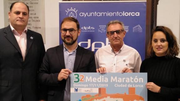 """Más 500 corredores competirán en la edición 32 de la Media Maratón """"Ciudad de Lorca"""""""