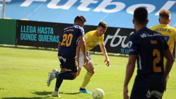 El UCAM Murcia empata en el 91 frente al Cádiz B| 1-1