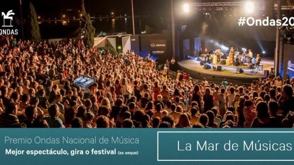 El festival La Mar de Músicas, Premio Ondas Nacional de Músicas 2019
