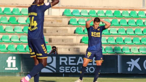 El UCAM Murcia no da la talla ante el Betis Deportivo (1-0)