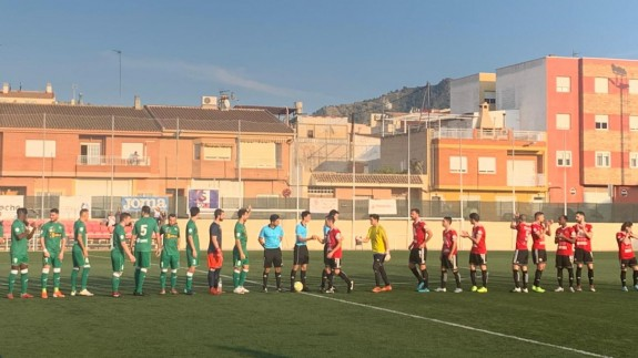 El Huercalovera se lleva la victoria ante Los Garres| 0-1
