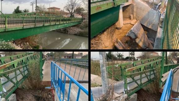 Imágenes del puente. CEDIDAS