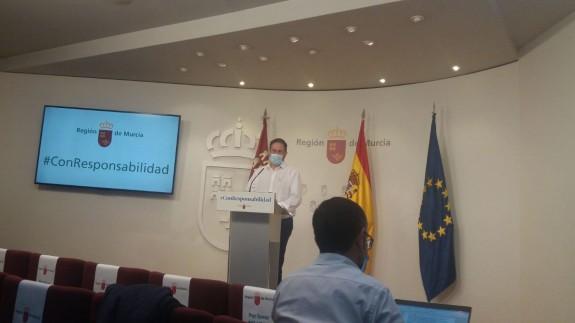 Rueda de prensa ofrecida por Jaime Pérez, portavoz del comité Covid-19