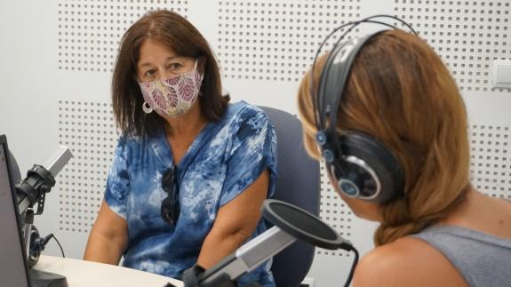 Teresa Martín, presidenta de la Asociación de Usuarios de la Sanidad de la Región de Murcia y portavoz de Marea Blanca.