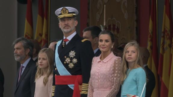 Los Reyes hoy en el desfile