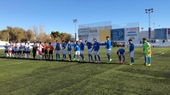Reparto de puntos entre Mar Menor y Estudiantes 1-1