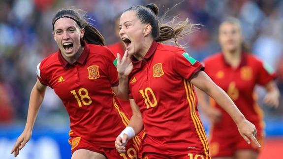 España vence 2-1 a México y se proclama campeona del mundo sub-17
