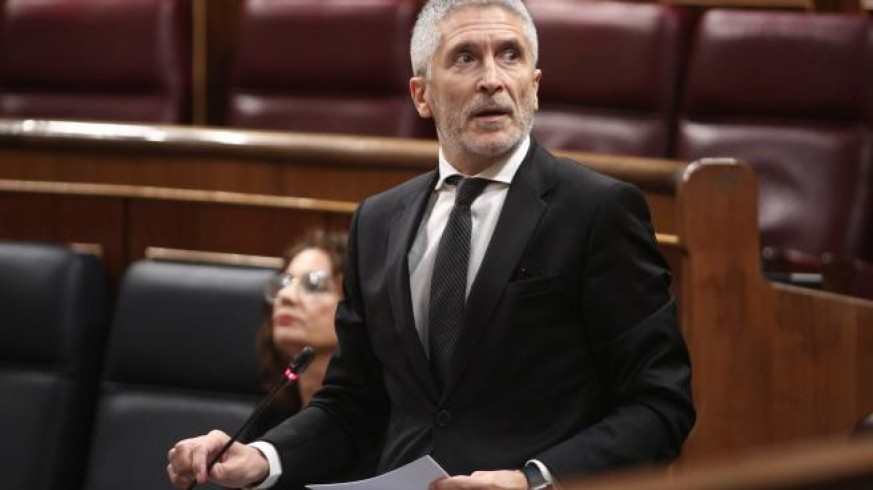Marlaska asegura que no da detalles del cese de Pérez De los Cobos 'por respeto a su carrera'