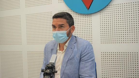 Antonio Luengo, durante la entrevista en Plaza Pública.