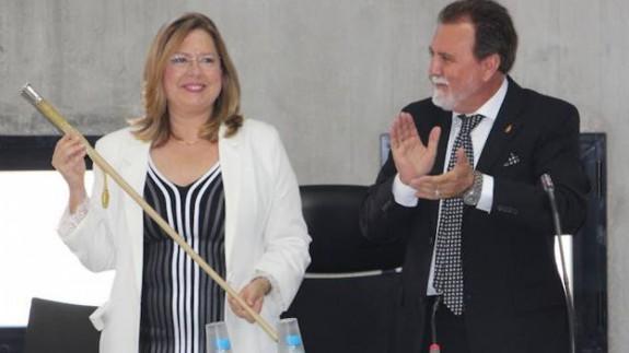 Visitación Martínez, alcaldesa de San Pedro del Pinatar.