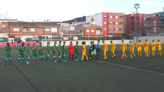 El UCAM B se lleva los tres puntos ante Los Garres| 0-2