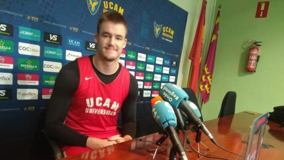 """Dino Radoncic ve """"muy motivado al UCAM Murcia CB para ganar en Andorra"""""""