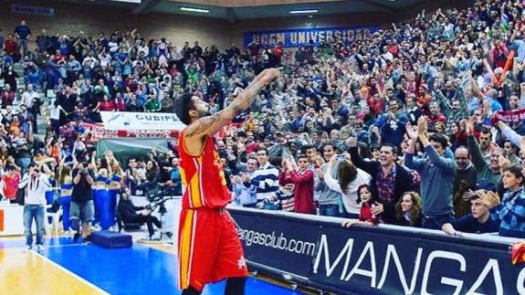 Augusto Lima en el Palacio de los Deportes de Murcia (foto: @AugustoLima7)