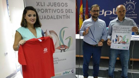 Presentación de los XLI Juegos Deportivos del Guadalentín. Foto: Alfonso Martínez