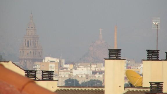 Contaminación en Murcia