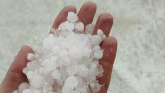 Las tormentas con granizo llegan a zonas del Altiplano, Noroeste y Vega Alta