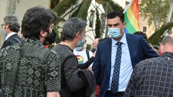El portavoz de Podemos-EQUO en el Ayuntamiento de Murcia, Ginés Ruiz Maciá, en una foto de archivo - Javi Carrión - Europa Press